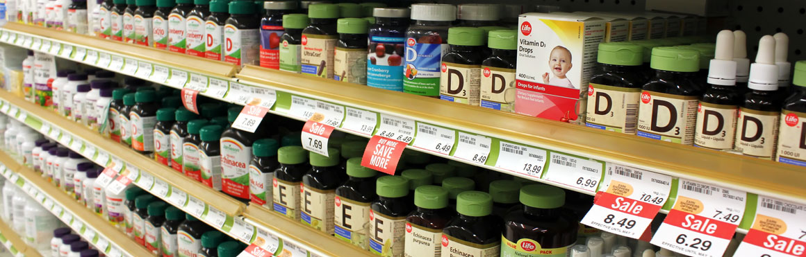 Pain Relief in the Vitamin Aisle? North Shore Pain Management Blog Post
